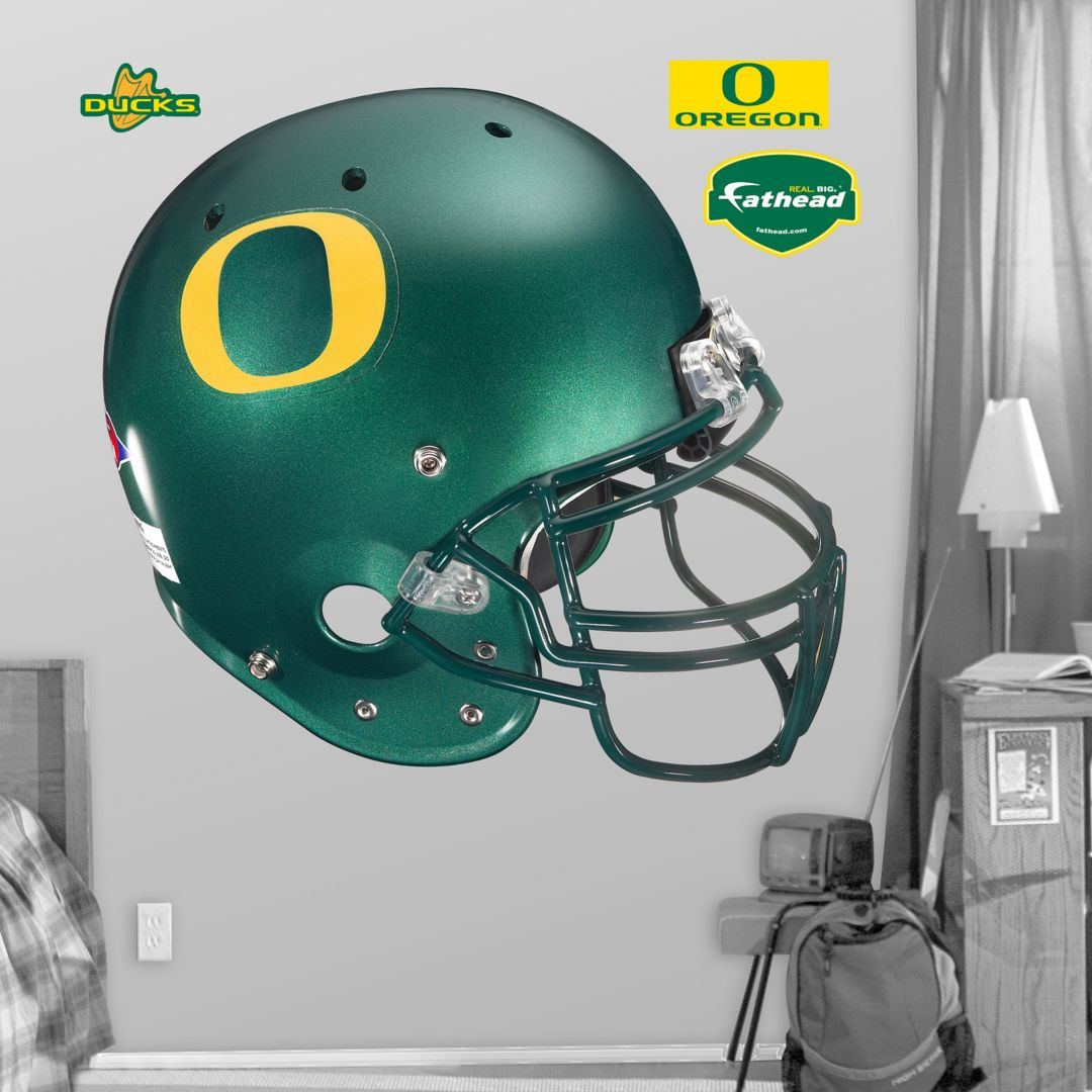 size 40 1cf59 80470 Fathead Oregon Ducks Football Helmet Wall Graphic