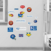 Fathead Kansas Jayhawks Team Logo Assortment Wall Graphic