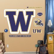 Fathead Washington Huskies Logo Wall Decal
