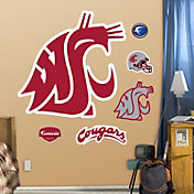 Fathead Washington State Cougars Logo Wall Decal