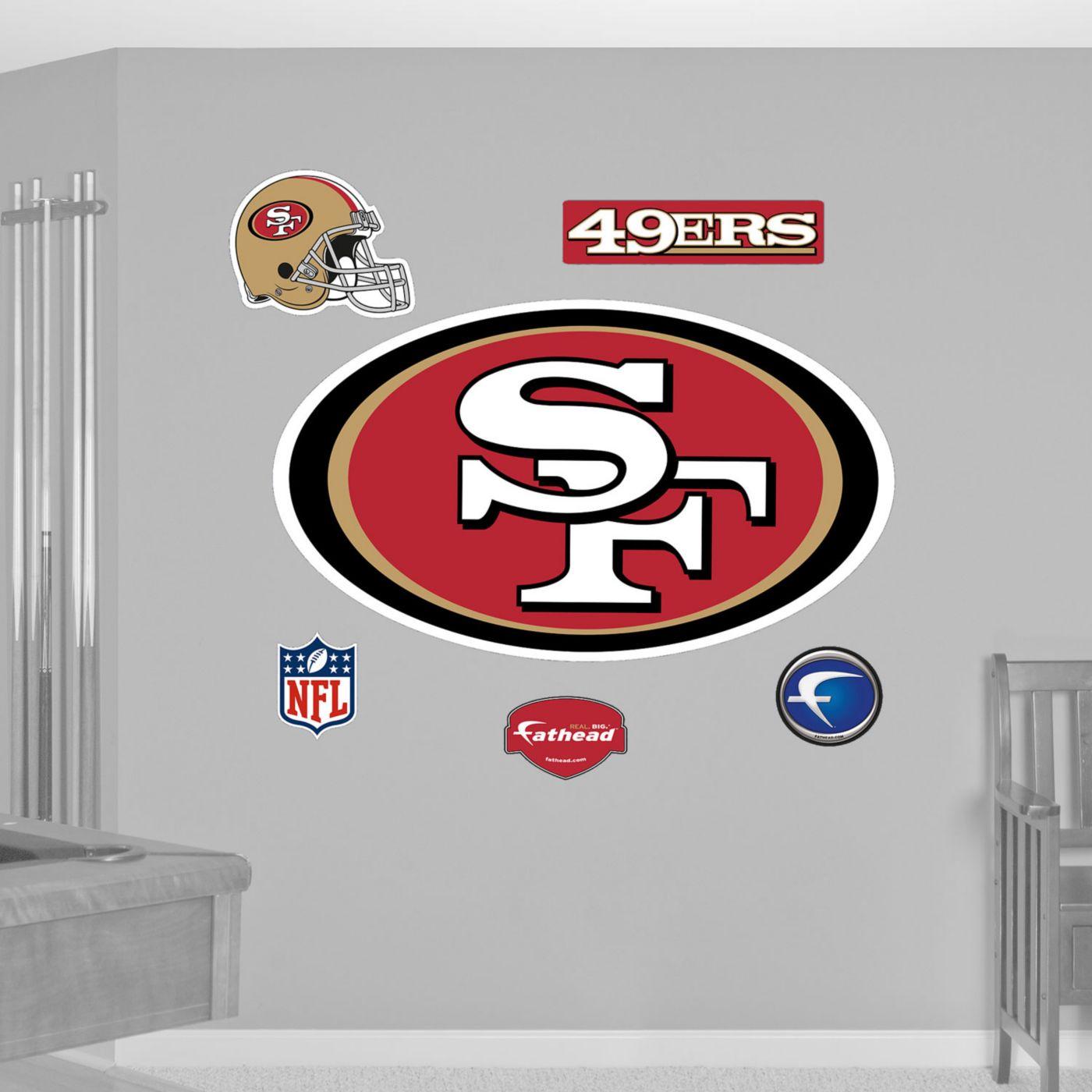 Fathead San Francisco 49ers Logo Wall Graphic