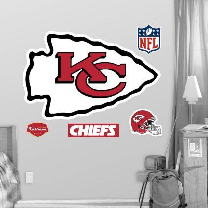 Fathead Kansas City Chiefs Logo Wall Graphic NoImageFound