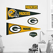 Fathead Jr. Green Bay Packers Pennant Wall Graphic