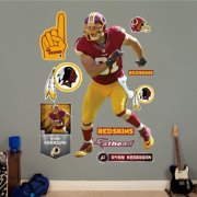 Fathead Ryan Kerrigan #91 Washington Redskins Real Big Wall Graphic