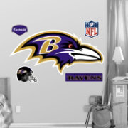 Fathead Baltimore Ravens Logo Wall Graphic