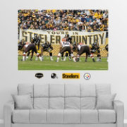 "Fathead Pittsburgh Steelers ""You're in Steelers Country"" Wall Graphic"
