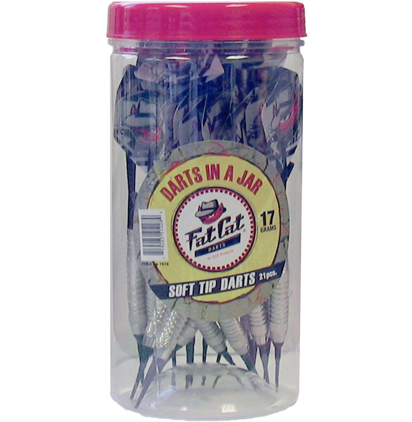 Fat Cat Darts in a Jar 17g Soft Tip