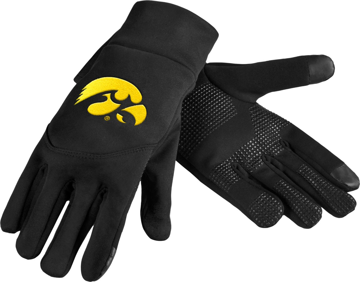 FOCO Iowa Hawkeyes Texting Gloves