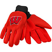 FOCO Adult Wisconsin Badgers Work Gloves