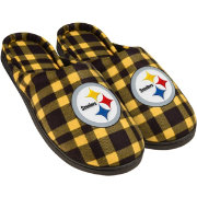 FOCO Pittsburgh Steelers Flannel Cup Sole Slippers