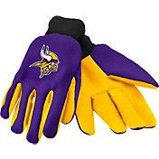FOCO Adult Minnesota Vikings Work Gloves