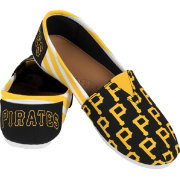 FOCO Women's Pittsburgh Pirates Stripe Canvas Shoes