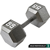 Fitness Gear 55 lb Cast Hex Dumbbell