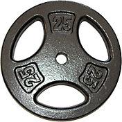 Fitness Gear 25 lb Standard Cast Plate