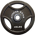 Fitness Gear 45 lb Olympic Cast Plate
