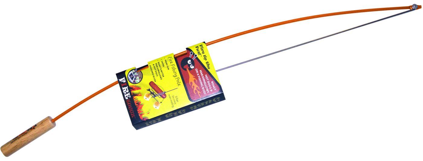 Fire Buggz Fishing Pole Marshmallow and Hot Dog Roaster