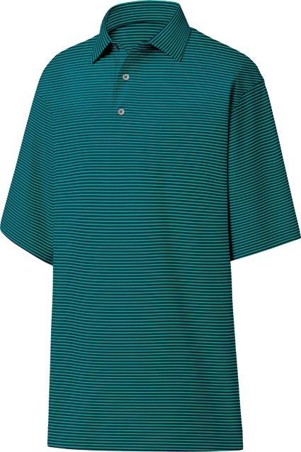 FootJoy Lisle Feeder Stripe Polo
