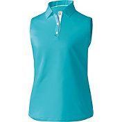 FootJoy Women's ProDry Solid Interlock Sleeveless Golf Polo