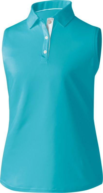 FootJoy Women's ProDry Solid Interlock Sleeveless Polo