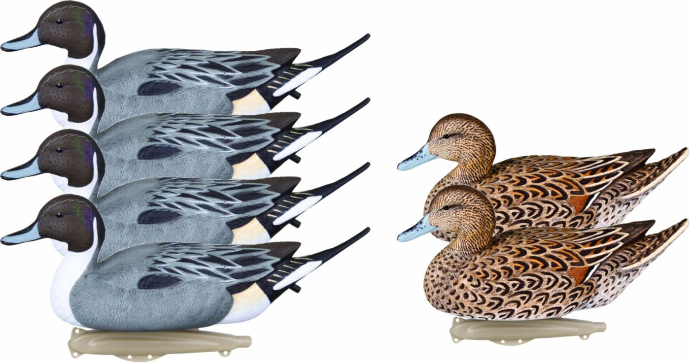 Flambeau Storm Front Classic Pintail Duck Decoy – 6 Pack