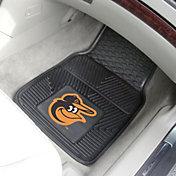 FANMATS Baltimore Orioles Heavy Duty Vinyl Car Mats 2-Pack
