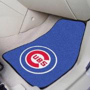 FANMATS Chicago Cubs Printed Car Mats 2-Pack