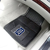 FANMATS Detroit Tigers Heavy Duty Vinyl Car Mats 2-Pack