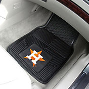 FANMATS Houston Astros Heavy Duty Vinyl Car Mats 2-Pack