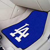FANMATS Los Angeles Dodgers Printed Car Mats 2-Pack