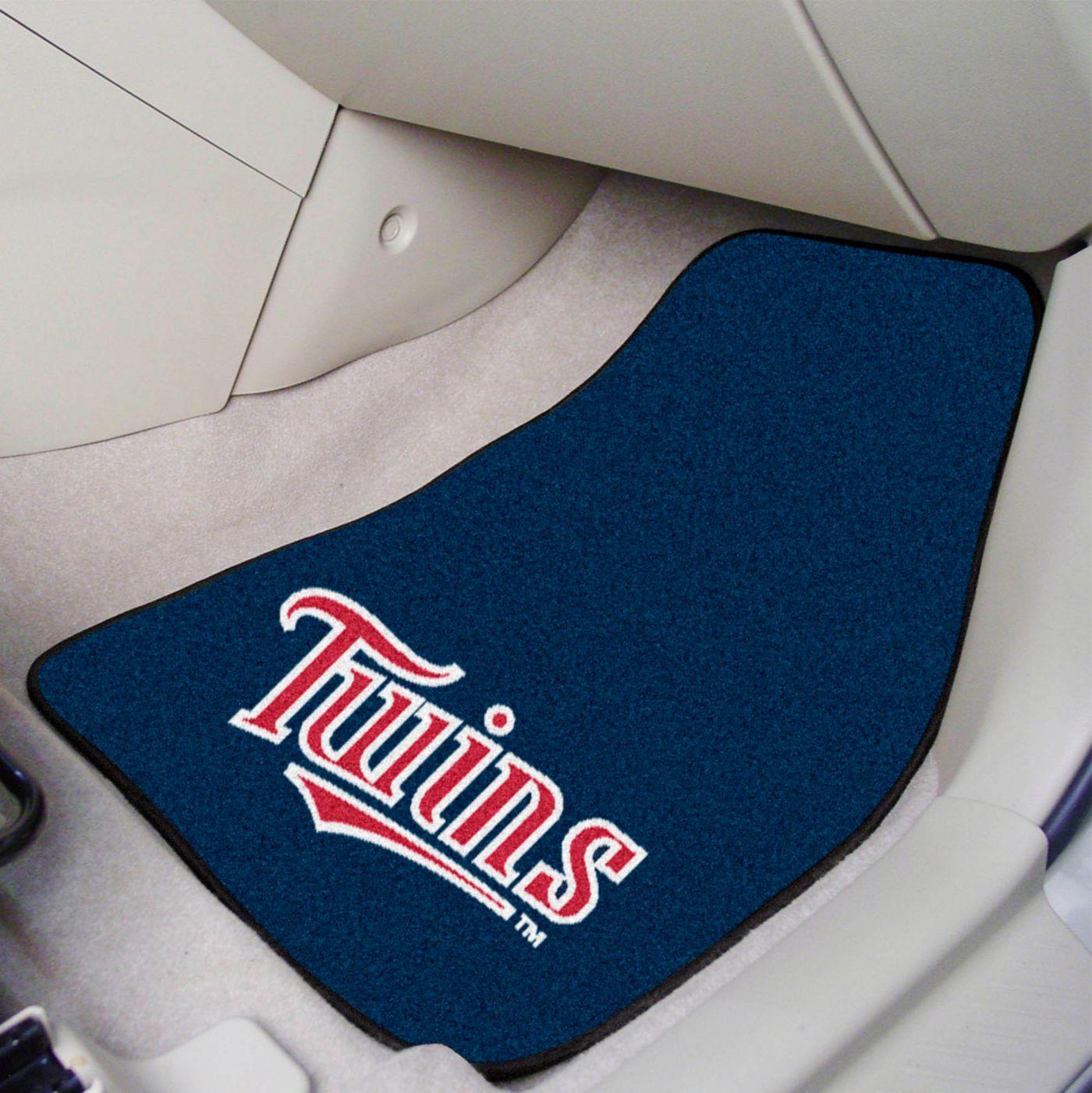 FANMATS Minnesota Twins Printed Car Mats 2-Pack