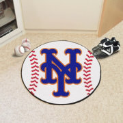 New York Mets Baseball Mat
