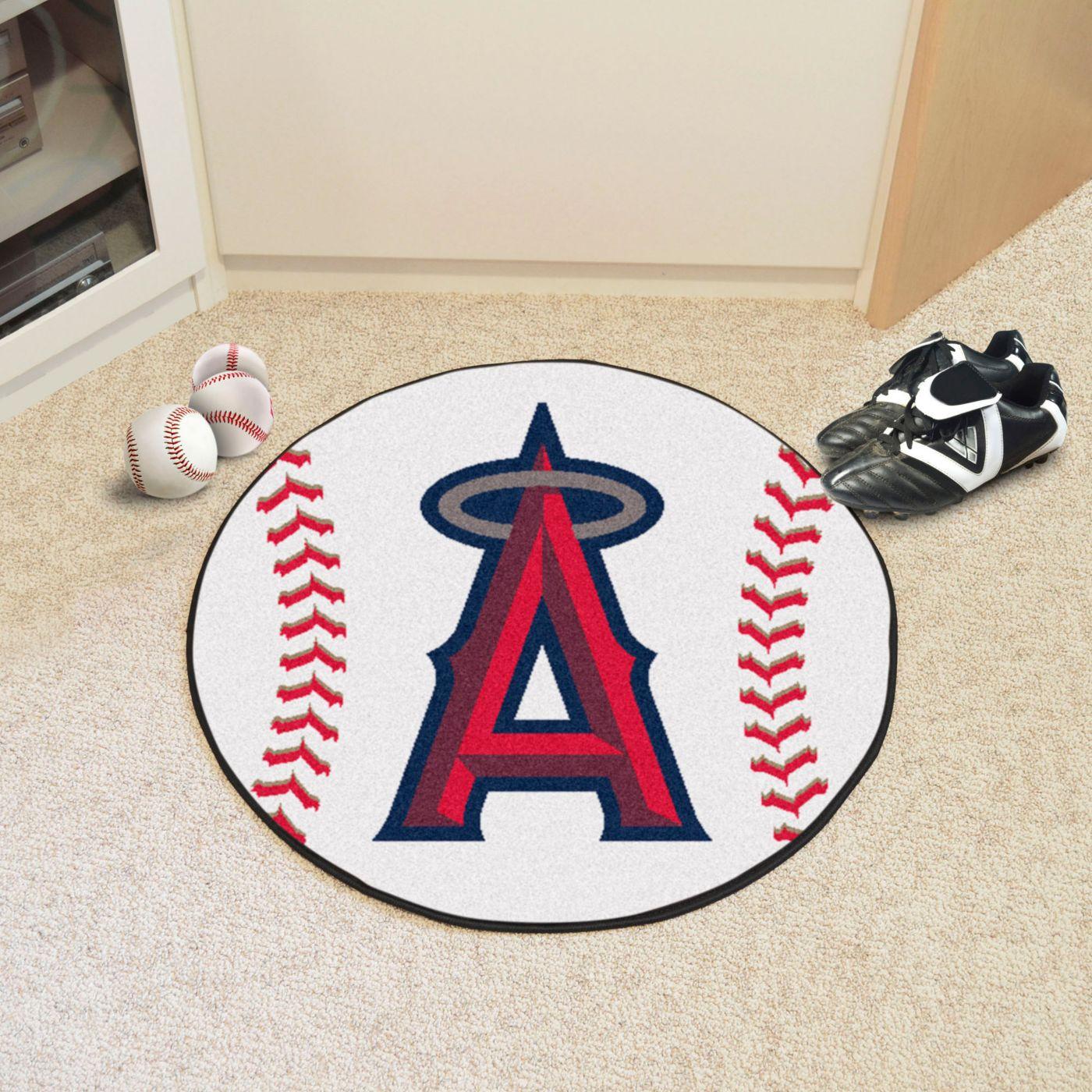 FANMATS Los Angeles Angels Baseball Mat
