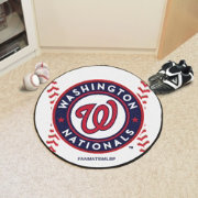Washington Nationals Baseball Mat