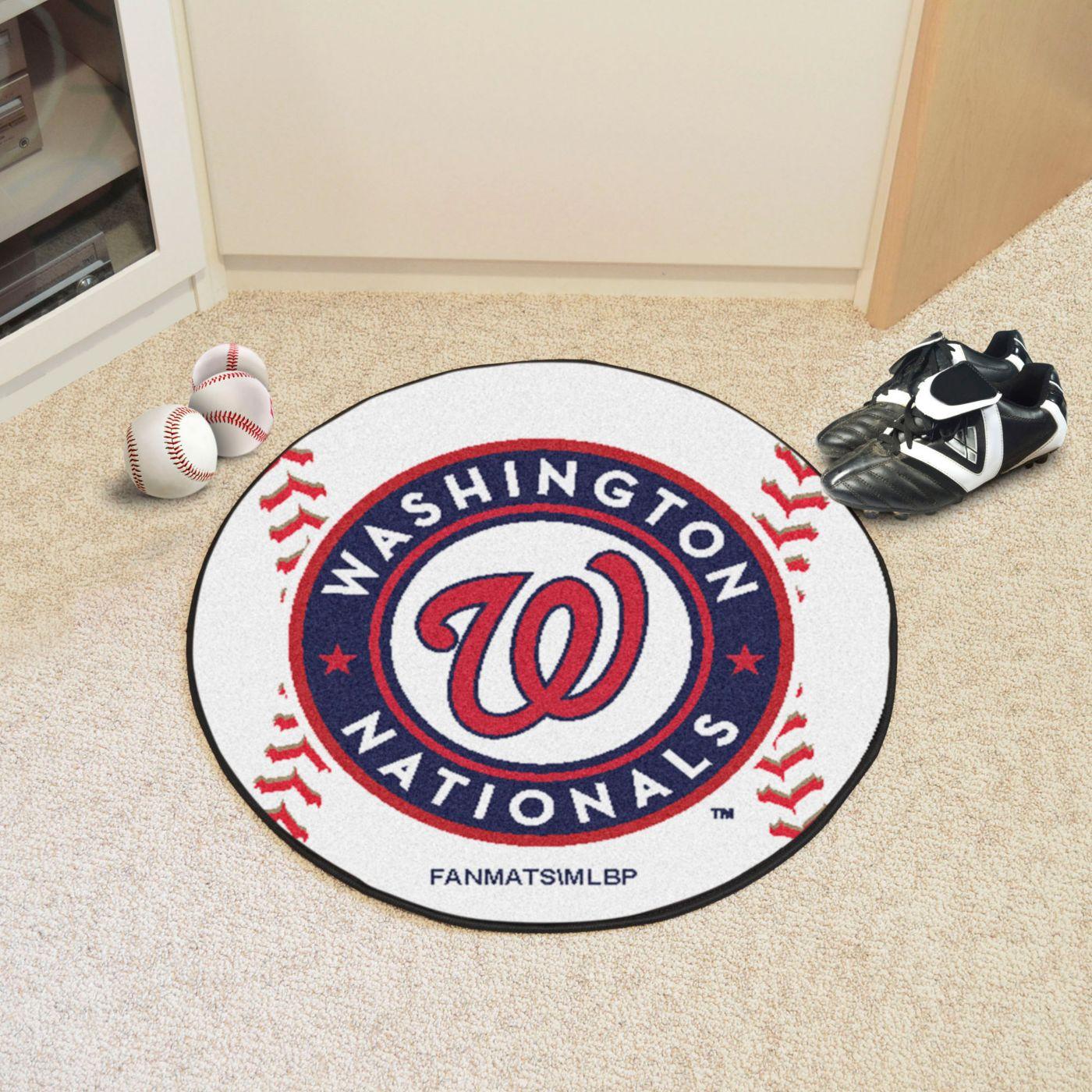 Washington Nationals Baseball Mat