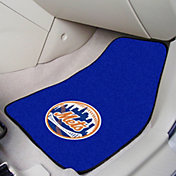 New York Mets Printed Car Mats 2-Pack