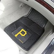 FANMATS Pittsburgh Pirates Heavy Duty Vinyl Car Mats 2-Pack