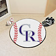 FANMATS Colorado Rockies Baseball Mat