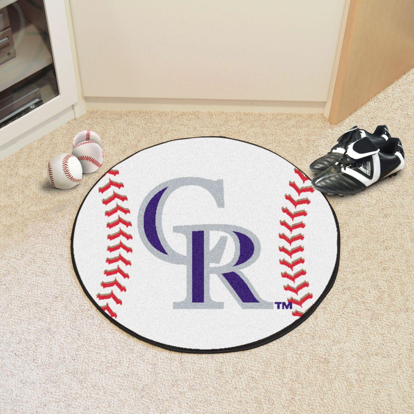 FANMATS Colorado Rockies Baseball Mat