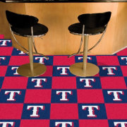 FANMATS Texas Rangers Team Carpet Tiles