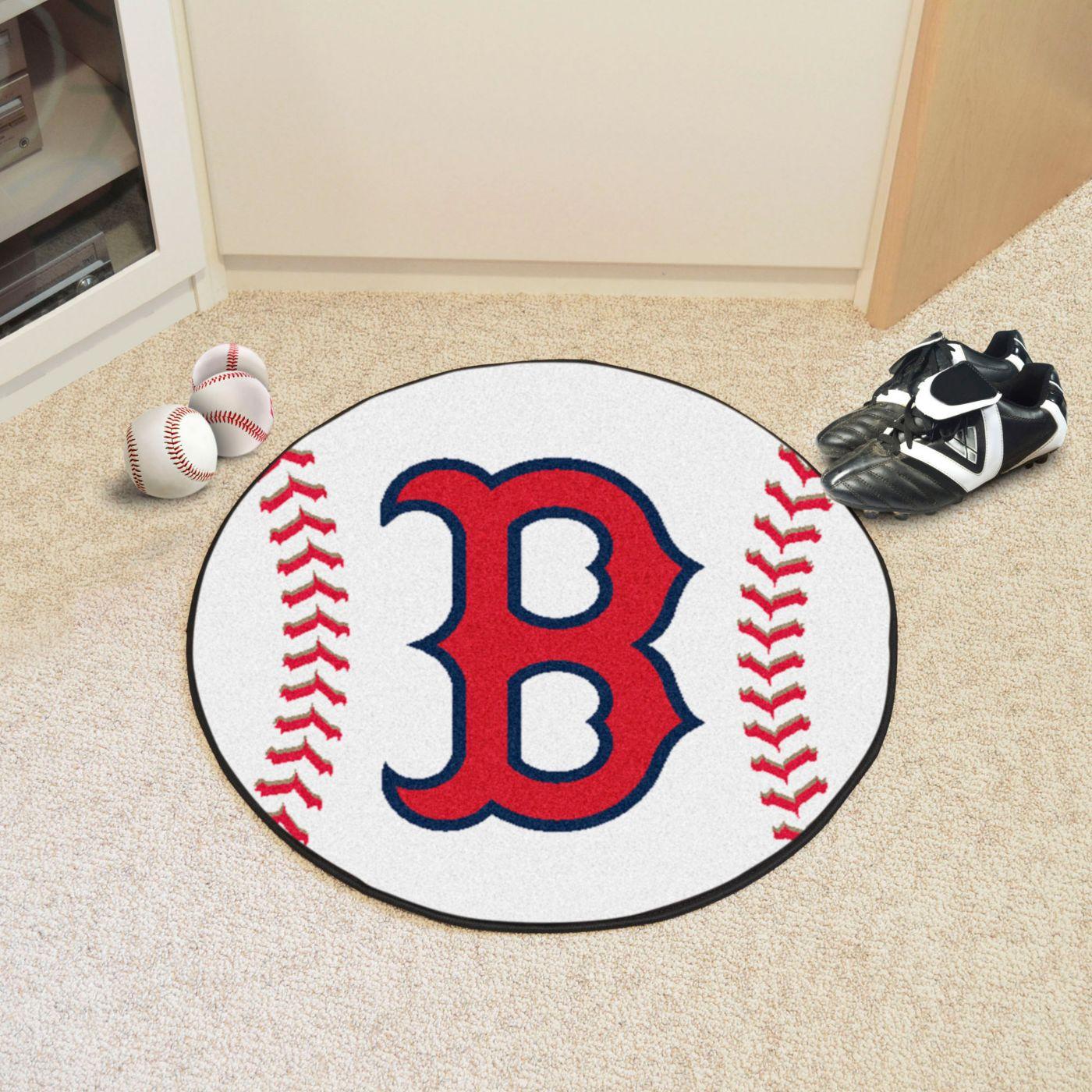 FANMATS Boston Red Sox Baseball Mat
