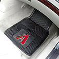 Arizona Diamondbacks Heavy Duty Vinyl Car Mats 2-Pack