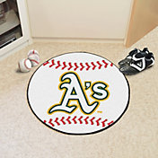 Oakland Athletics Baseball Mat