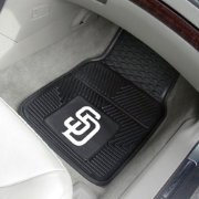 FANMATS San Diego Padres Heavy Duty Vinyl Car Mats 2-Pack