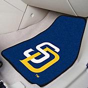 San Diego Padres Printed Car Mats 2-Pack