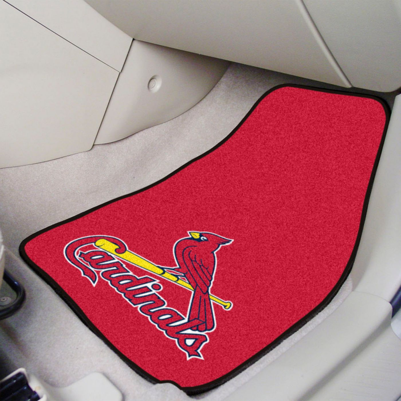 FANMATS St. Louis Cardinals Printed Car Mats 2-Pack