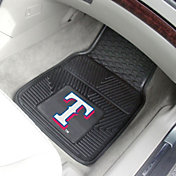 FANMATS Texas Rangers Heavy Duty Vinyl Car Mats 2-Pack