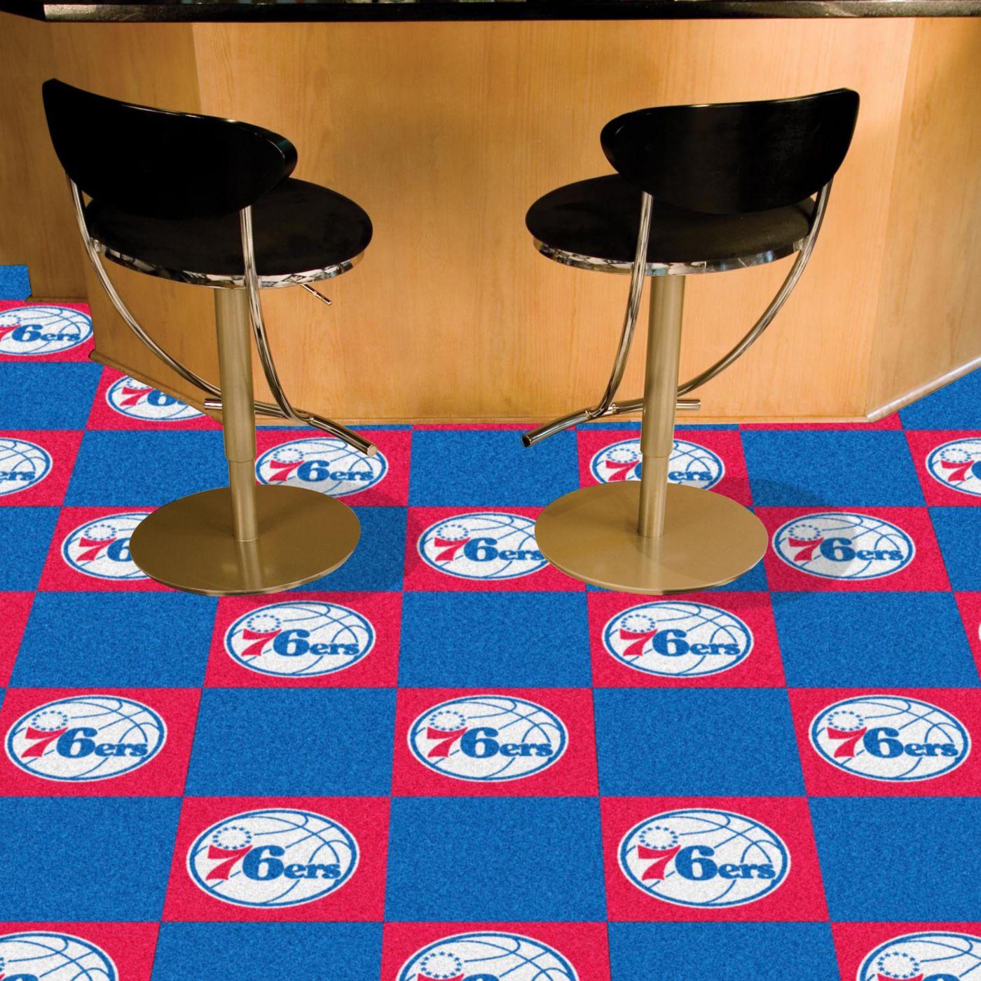 Philadelphia 76ers Carpet Tiles