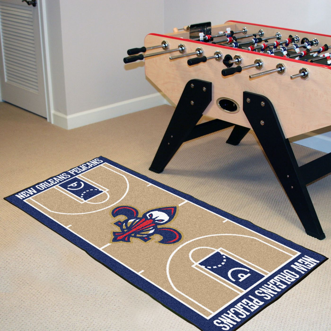 FANMATS New Orleans Hornets Court Runner