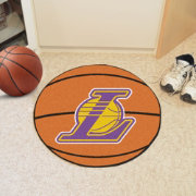 FANMATS Los Angeles Lakers Basketball Mat