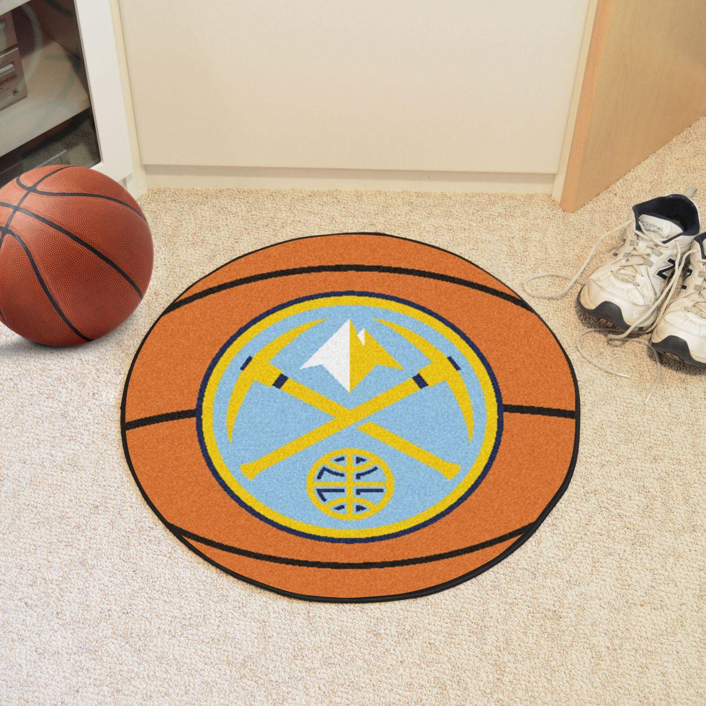 FANMATS Denver Nuggets Basketball Mat